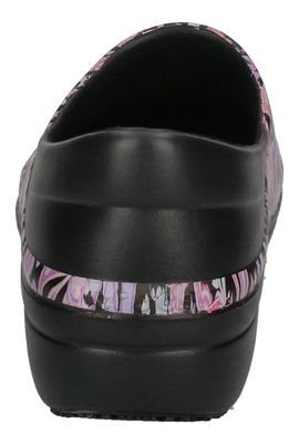 CROCS WORK - NERIA Pro II Graphic black paisley floral preview 5