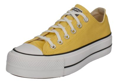 CONVERSE Sneakers - CTAS LIFT OX 568627C butter yellow