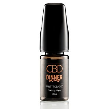 CBD E-Liquid Mint Tobacco 30ml – Bild 3