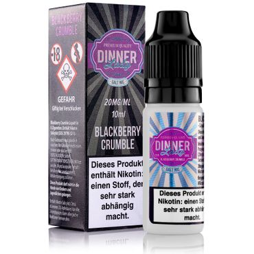 Blackberry Crumble - Salt Nic  50:50 10ml 20mg – Bild 2
