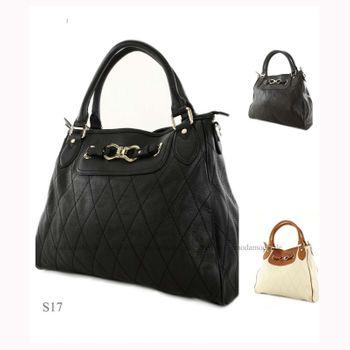 ital Handtasche aus Echtleder S17 – Bild 1