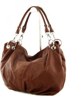 modamoda de - IT40 -  ital Damenhandtasche aus Nappaleder  – Bild 14