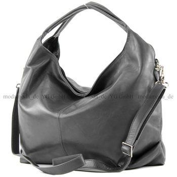 modamoda de -  DS26 - ital Damenhandtasche aus Nappaleder – Bild 11