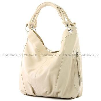 modamoda de -  Z18 - ital Damenhandtasche aus Leder/Nappaleder – Bild 23