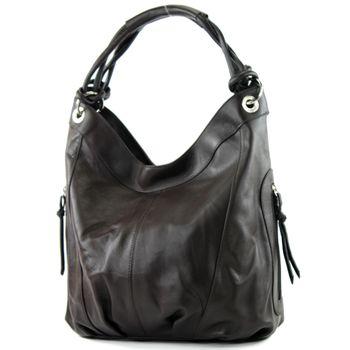 modamoda de - ital Damenhandtasche aus Leder/Nappaleder Z18 – Bild 10