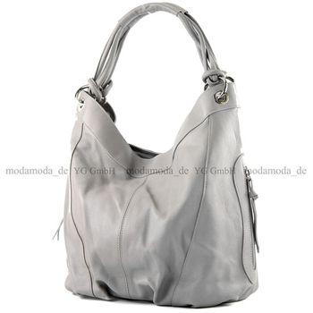 modamoda de -  Z18 - ital Damenhandtasche aus Leder/Nappaleder – Bild 22