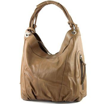 modamoda de - ital Damenhandtasche aus Leder/Nappaleder Z18 – Bild 25