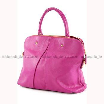modamoda de -  T39 - ital Handtasche aus Echt Leder – Bild 4