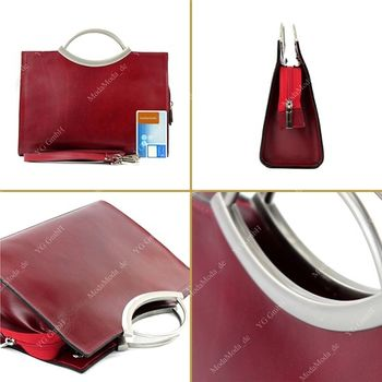 modamoda de - X03 -  ital Handtasche Business Elegant X03 – Bild 7