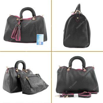 Lookat – Handtasche aus Lederimitat LK711 – Bild 13