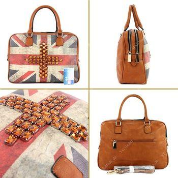 Lookat – Handtasche aus Lederimitat LK6067 – Bild 3