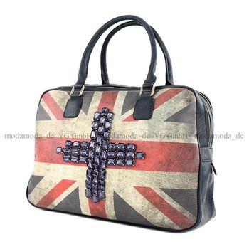 Lookat – Handtasche aus Lederimitat LK6067 – Bild 4