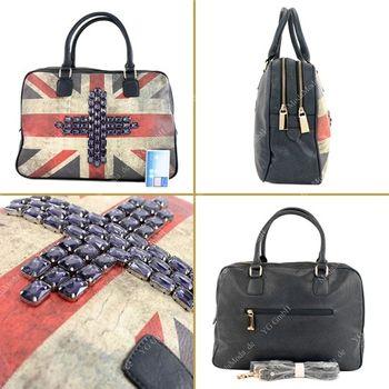 Lookat – Handtasche aus Lederimitat LK6067 – Bild 5