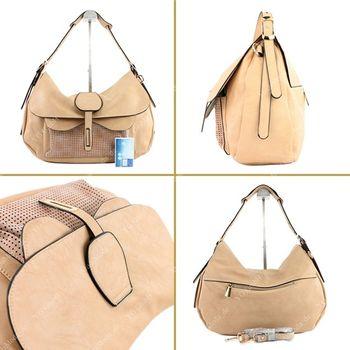 Lookat – Handtasche aus Lederimitat LK6066 – Bild 15