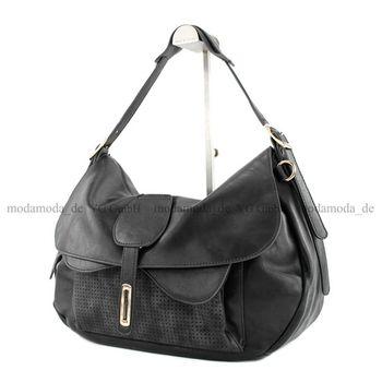 Lookat – Handtasche aus Lederimitat LK6066 – Bild 12