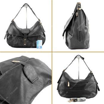 Lookat – Handtasche aus Lederimitat LK6066 – Bild 13