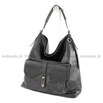 Lookat – Handtasche aus Lederimitat LK6069 – Bild 14