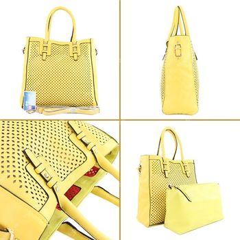 Lookat – Handtasche aus Lederimitat LK138047 – Bild 5