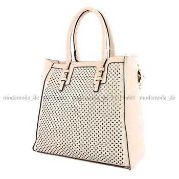 Lookat – Handtasche aus Lederimitat LK138047 – Bild 8