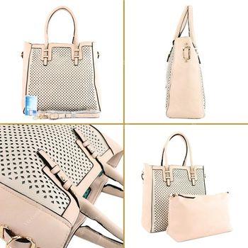 Lookat – Handtasche aus Lederimitat LK138047 – Bild 9