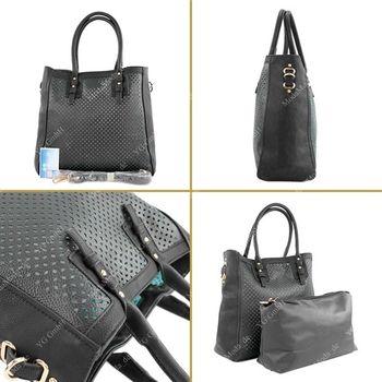 Lookat – Handtasche aus Lederimitat LK138047 – Bild 13
