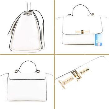 Lookat – Handtasche aus Lederimitat LK1121 – Bild 15