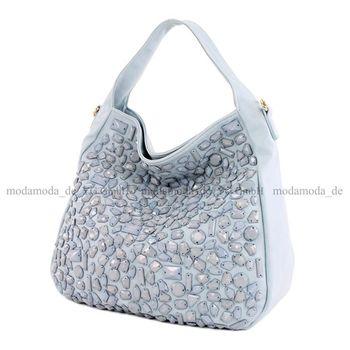 Lookat – Handtasche aus Lederimitat LK138108 – Bild 4