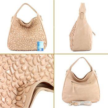 Lookat – Handtasche aus Lederimitat LK138108 – Bild 7