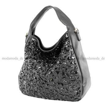 Lookat – Handtasche aus Lederimitat LK138108 – Bild 10