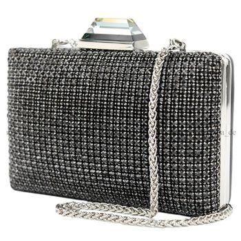 Lookat – Abendtasche  Perlen Steinchen Elegant AT02 – Bild 7