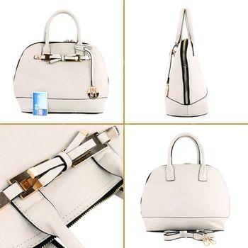 Lookat – Handtasche aus Lederimitat LK9938 – Bild 9