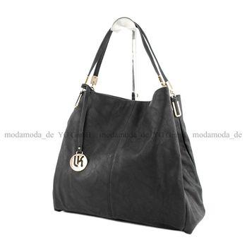 Lookat – Handtasche aus Lederimitat LK9923 – Bild 12