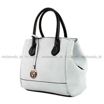 Lookat – Handtasche aus Lederimitat LK9927 – Bild 4