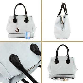 Lookat – Handtasche aus Lederimitat LK9927 – Bild 5