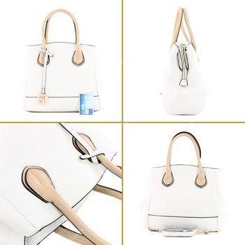 Lookat – Handtasche aus Lederimitat LK9927 – Bild 13