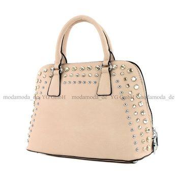 Lookat - Damen Handtasche in Lederimitat LK138074 – Bild 2