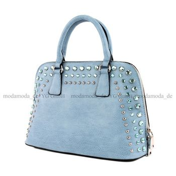 Lookat - Damen Handtasche in Lederimitat LK138074 – Bild 4