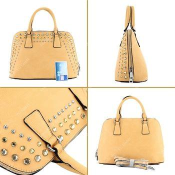 Lookat - Damen Handtasche in Lederimitat LK138074 – Bild 7