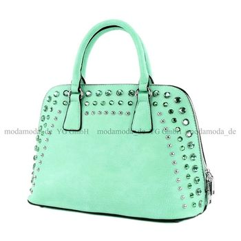 Lookat - Damen Handtasche in Lederimitat LK138074 – Bild 8