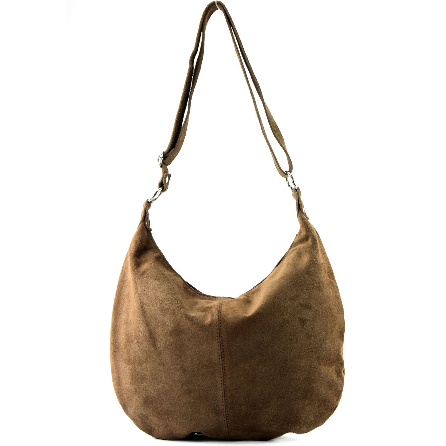 Italienische 321t Schultertasche Damentasche Citytasche Wildleder Umhängetasche xH7aqxfTw1