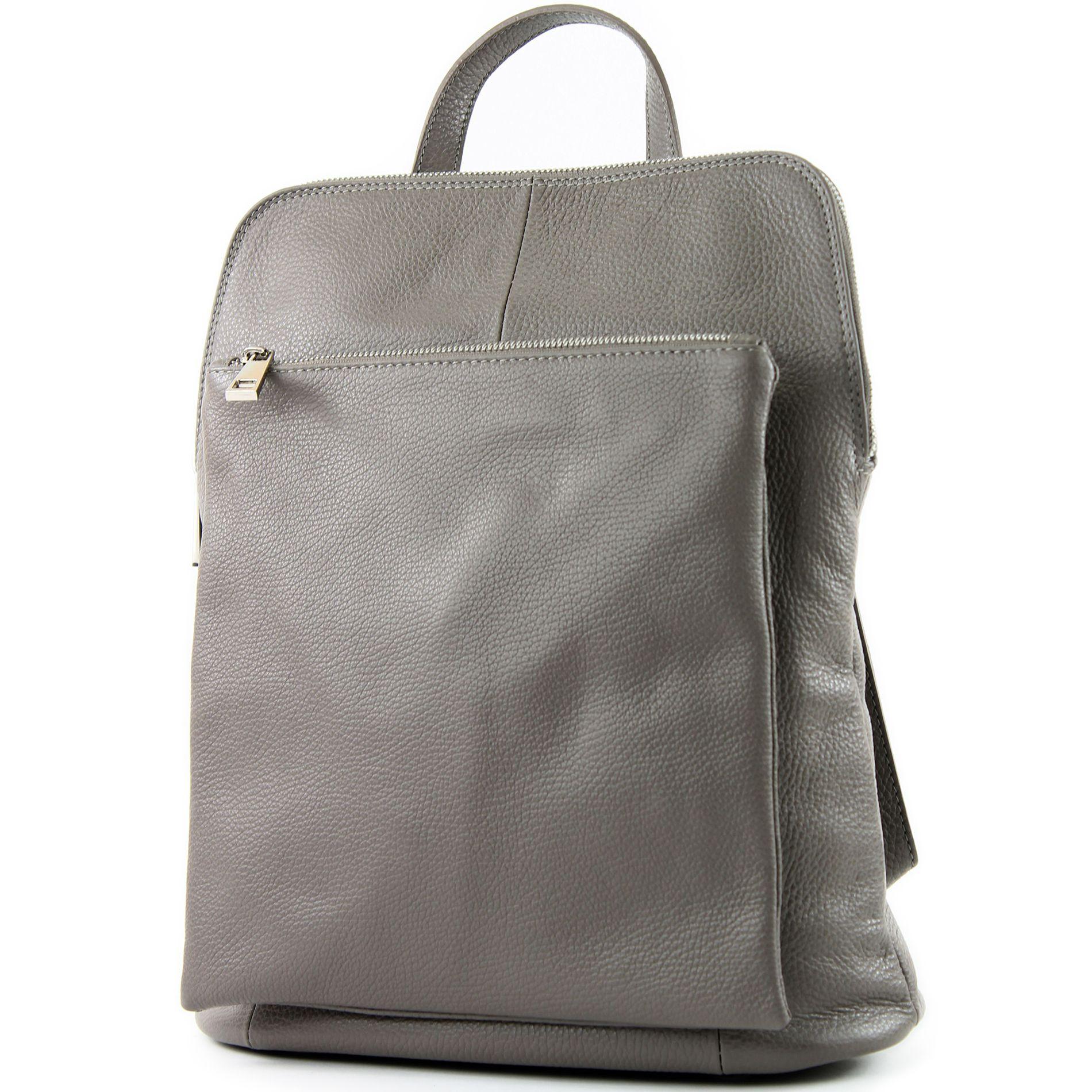 ital lederrucksack damen rucksack rucksacktasche 3in1. Black Bedroom Furniture Sets. Home Design Ideas