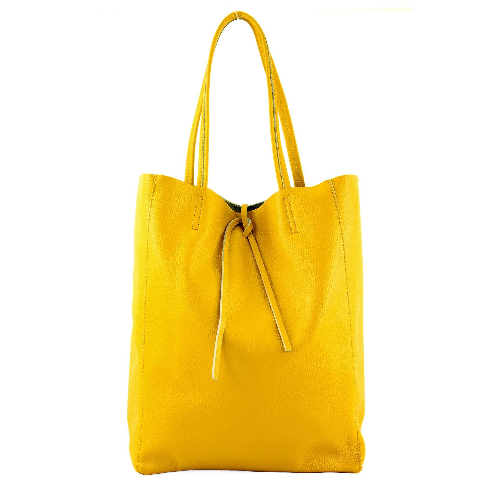 ital Leather bag Ladies bag Shopper bag Large shoulder bag leather T163 modamoda de