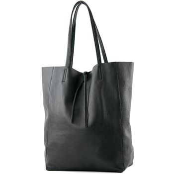 modamoda de - T163 -  Ital. Shopper Schultertasche aus Leder  – Bild 22
