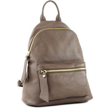 modamoda de - T171A - ital Damen Rucksacktasche aus Leder  – Bild 7