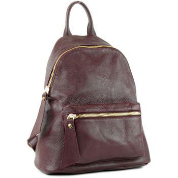 modamoda de - T171A - ital Damen Rucksacktasche aus Leder  – Bild 8