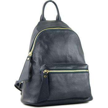 modamoda de - T171A - ital Damen Rucksacktasche aus Leder  – Bild 13