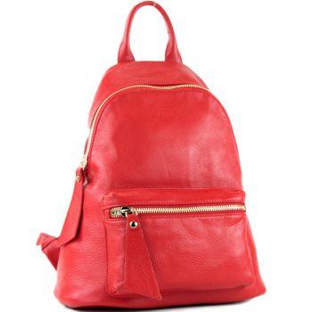 modamoda de - T171A - ital Damen Rucksacktasche aus Leder  – Bild 20