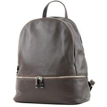 modamoda de - ital Damen Rucksacktasche aus Leder T137-Leder – Bild 12