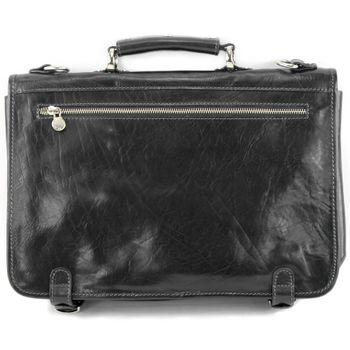 modamoda de - A006 - ital. Business Laptop Akten Tasche Leder  – Bild 12