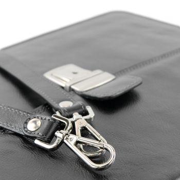 modamoda de - A008 - ital. Business Laptop Akten Tasche Leder  – Bild 14